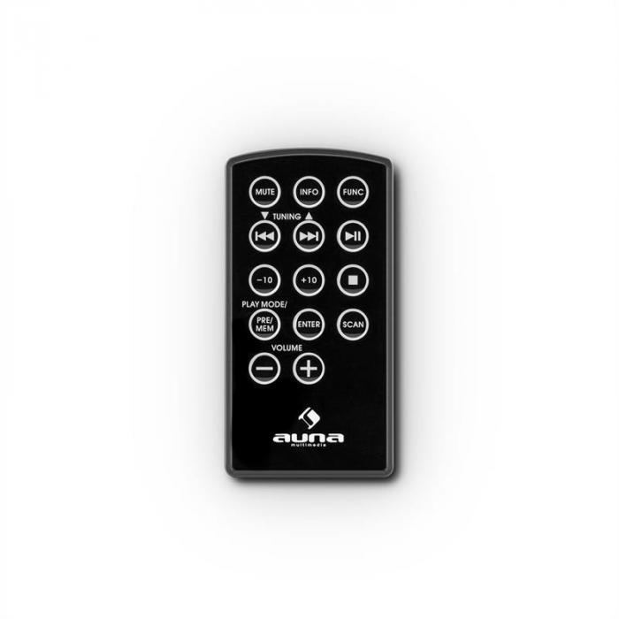 Virginia BK DAB/DAB+ Digitalradio Bluetooth USB UKW AUX MP3 schwarz