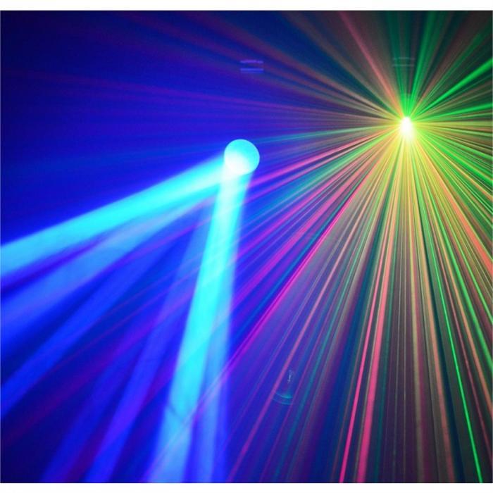 Light Package 3 Disco-Effektset LichteffektmaschineLaser Nebelmaschine