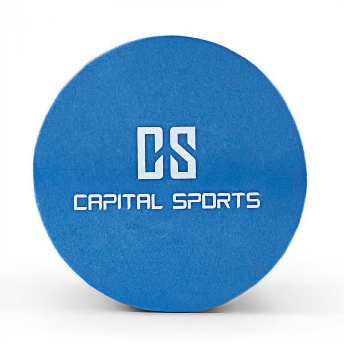 Caprole 2 Massageroller 6 Stück 45 x 15 cm blau