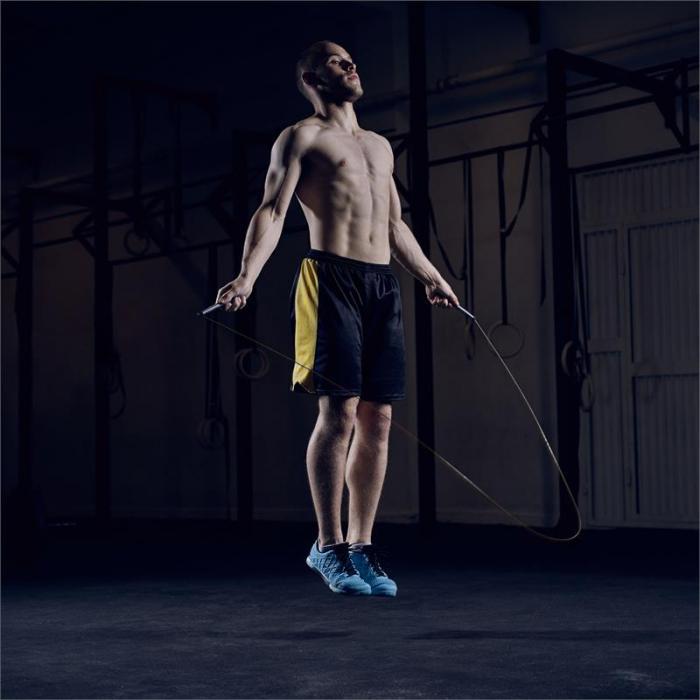 Exerci Pack Springseil mit Zusatzseil 2,75 m schwarz