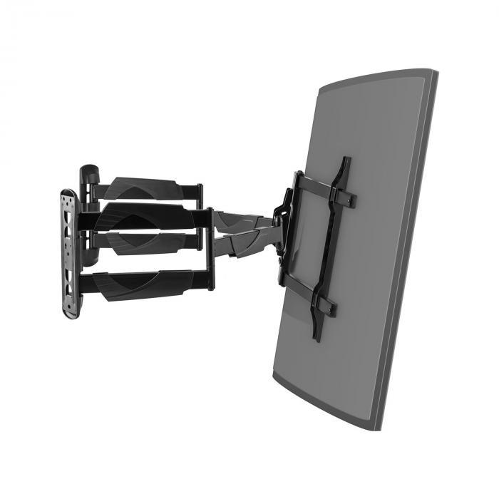 TV-Wandhalterung Curved Ecke LED LCD kippbar neigbar rotierbar max. 45 kg
