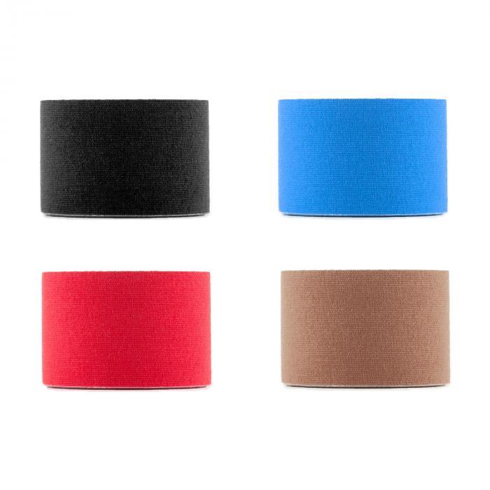 Bondies Kinesiologie Tape 6 Rollen 5 cm breit 5 m lang elastisch