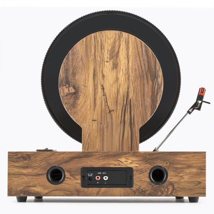 Verticalo S Retro-Design-Plattenspieler Vertikal-Plattenteller USB MP3 Line