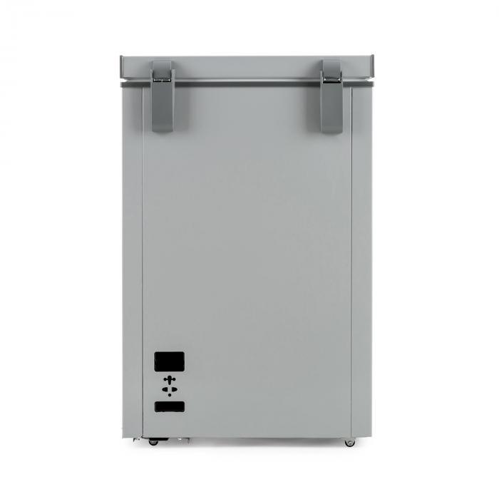 Iceblokk 100 Gefriertruhe Gefrierschrank 100 L 75 W A+ grau
