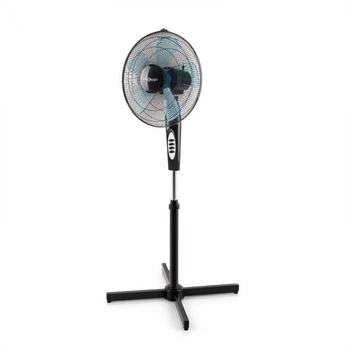Black Blizzard 2G Standventilator 8er-Set 41 cm (16''), 50 W, schwarz