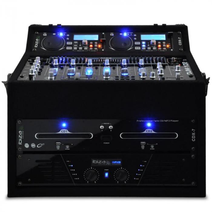 DJ PA Set Rack Star Sol Lightning 1200W