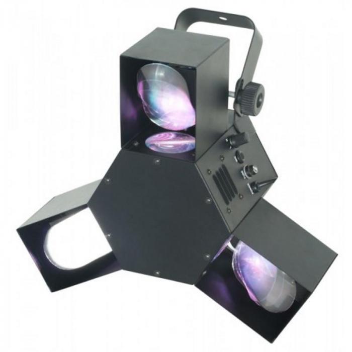 LED Triple Flex LED Lichteffekt 8 Kanal DMX