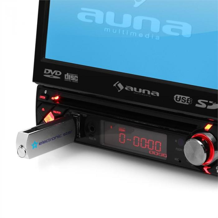 MVD-200 Autoradio Display DVD-Player Bluetooth