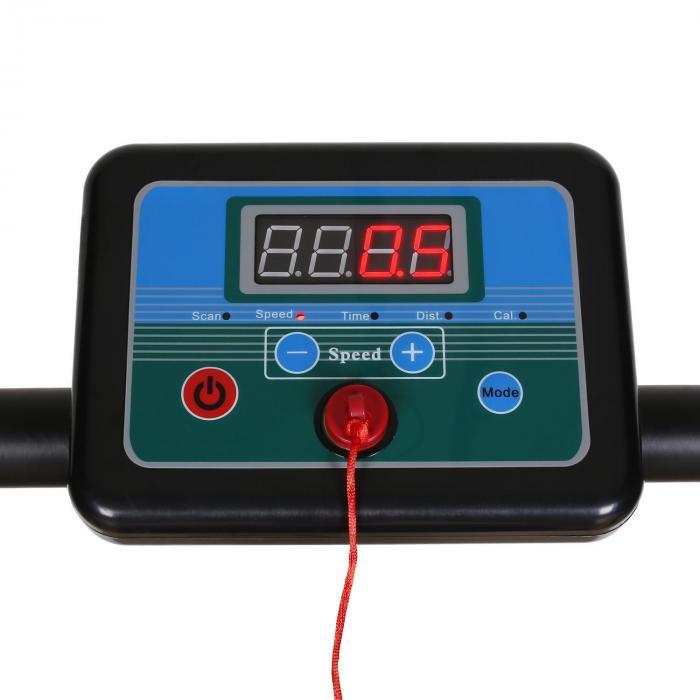 Treado Basic-BK Laufband Trainingscomputer schwarz