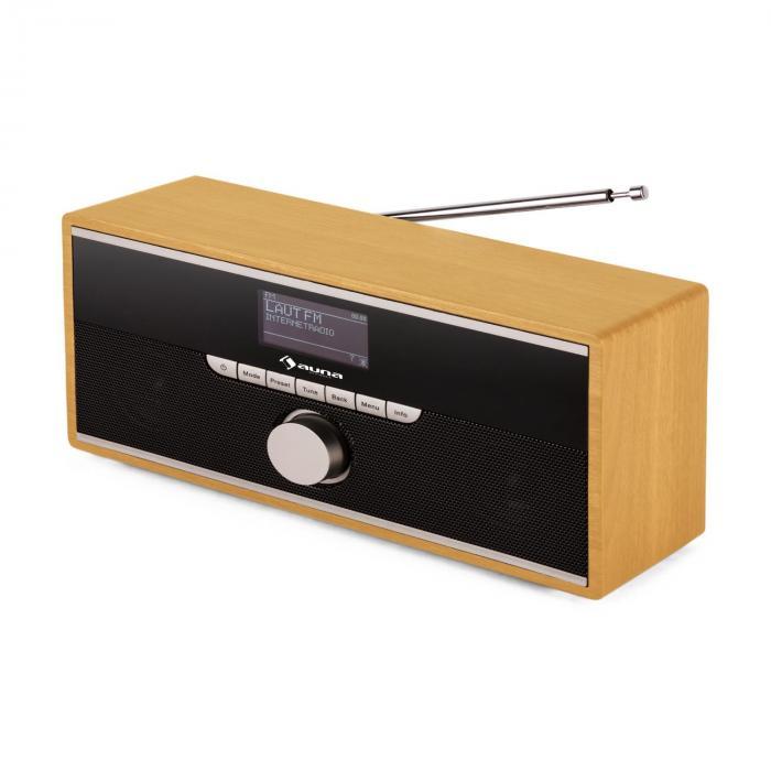 Weimar DAB-Radio Internet-Radio Bluetooth DAB+ UKW Wecker portabel