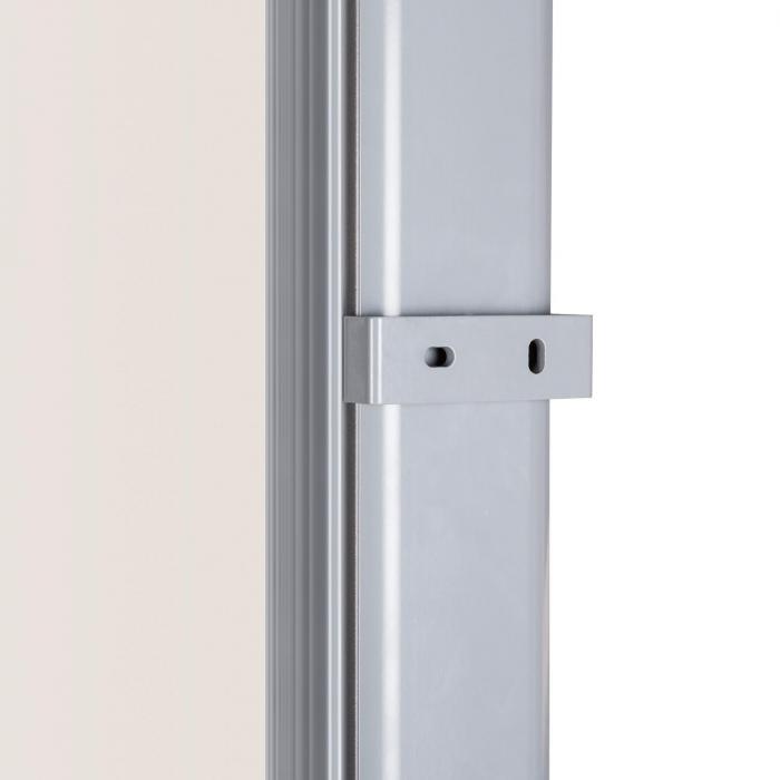 Bari 320 Seitenmarkise Seitenrollo 300x200cm Aluminium creme