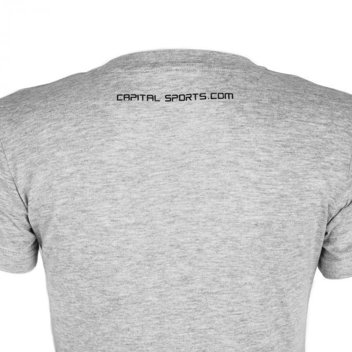 Beforce Trainings-T-Shirt für Frauen Size XS grau meliert