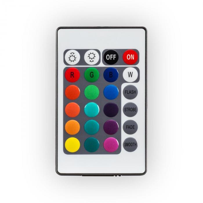 Shinecube LED-Sitzwürfel 30x30x30cm Leuchtwürfel 16 LED Fernbedienung