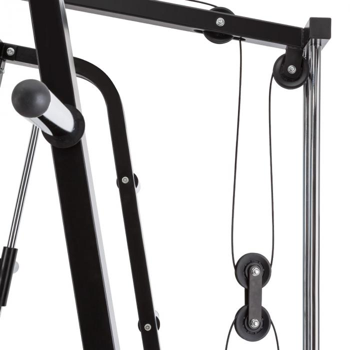 Squatster Squat Rack schwarz Stahl