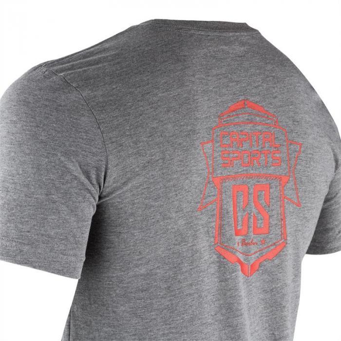 Trainings-T-Shirt für Männer Size XL Grau meliert