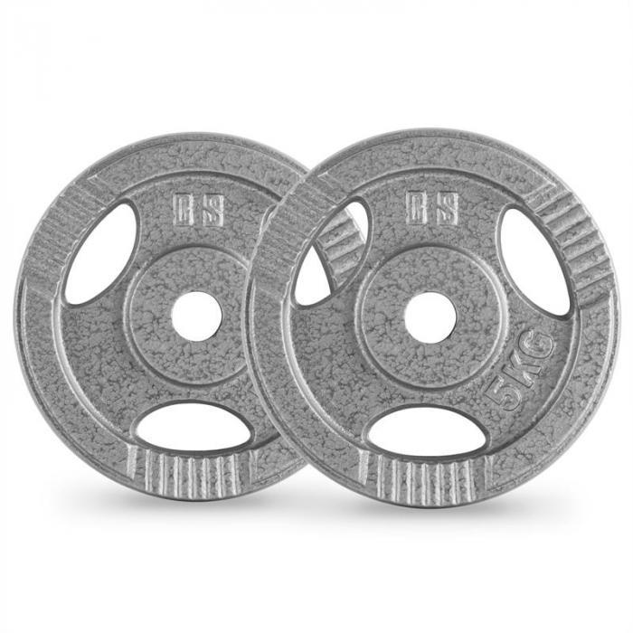 IP3H 20 kg Set Gewichtsscheibenset 4 x 2,5 kg + 2 x 5 kg 30 mm