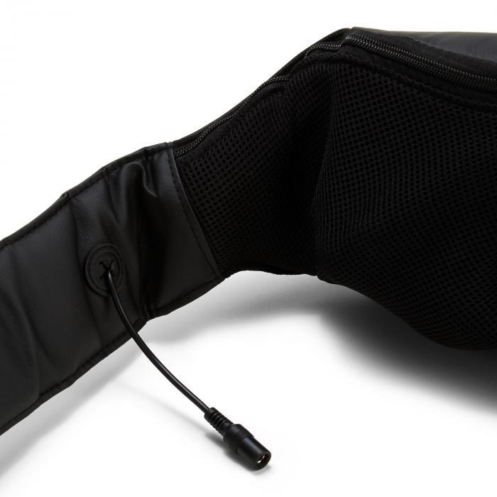 Neckstar Nacken-Massagekissen Shiatsu 4 rotierende Massageköpfe schwarz