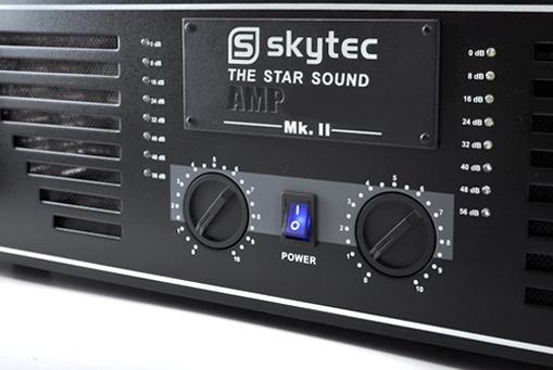 """DJ PA Komplettset """"Phuket Pulsar Pro"""" 2x Verstärker 4x Boxen"""
