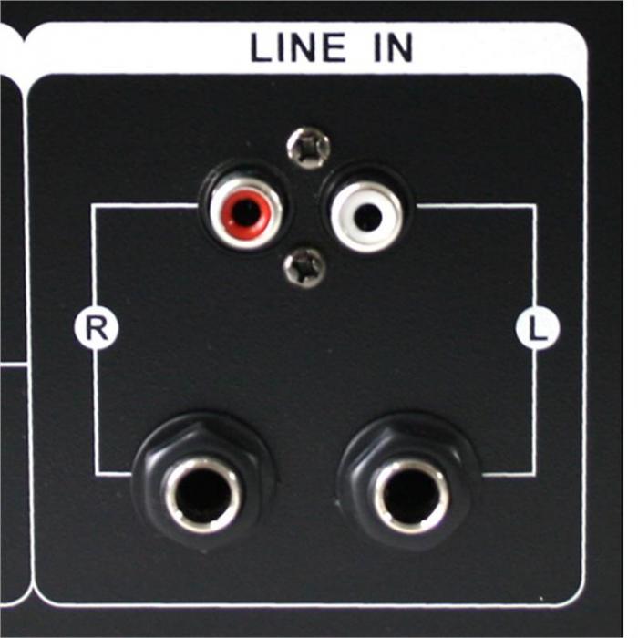 "DJ PA Set ""Bass Blast Force"" Verstärker PA-Boxen 1000W"