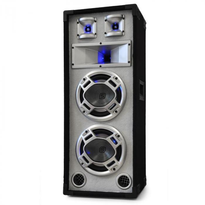 """DJ PA Set """"Polar Bear"""" Mixer Amp Boxen 2200W"""