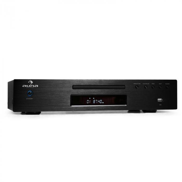 Elegance Tower 2.0 HiFi Set CD-Player USB 600W Stereo-Cinch digital-out