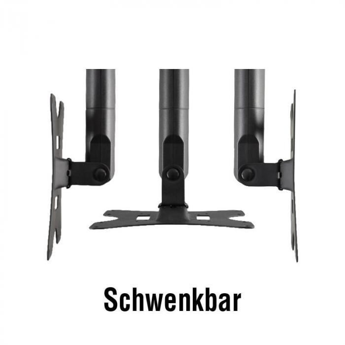 LCD-503A Schwenkarm-Wandhalterung mit HDMI-Kabel
