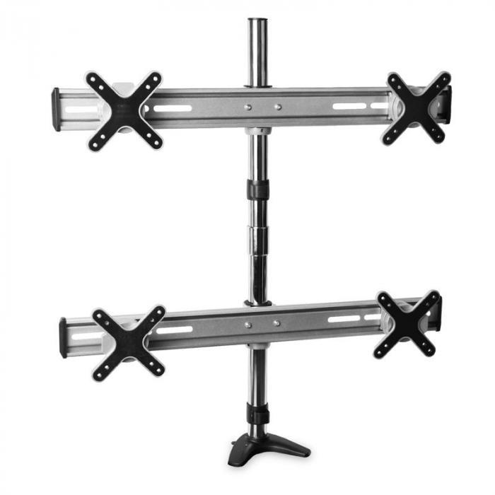 ET01-C04 Tischhalterung für 4 Monitore <4x8kg