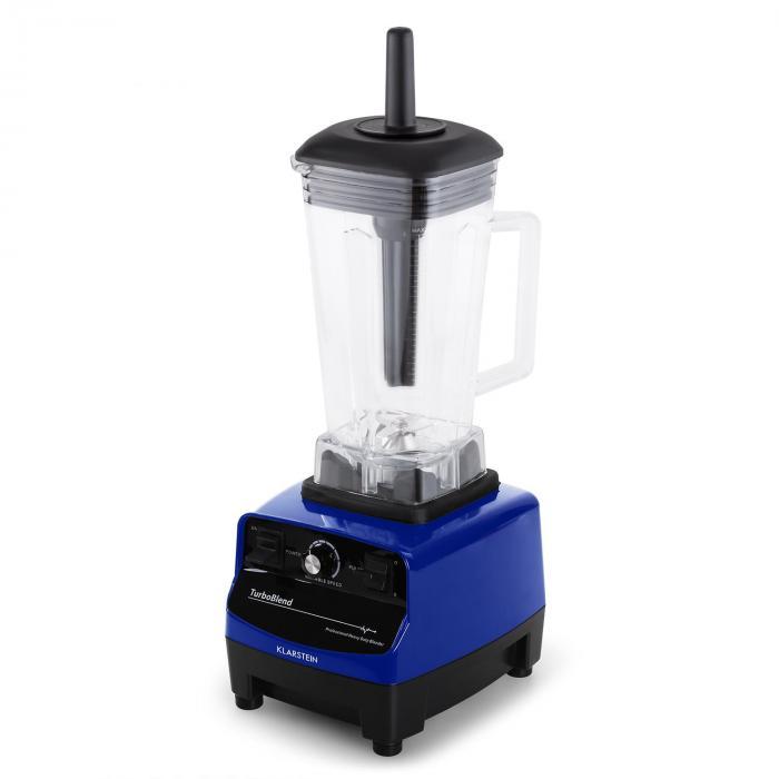 Herakles 3G Standmixer Blau mit Cover 1500W 2,0 PS 2 Liter BPA-frei