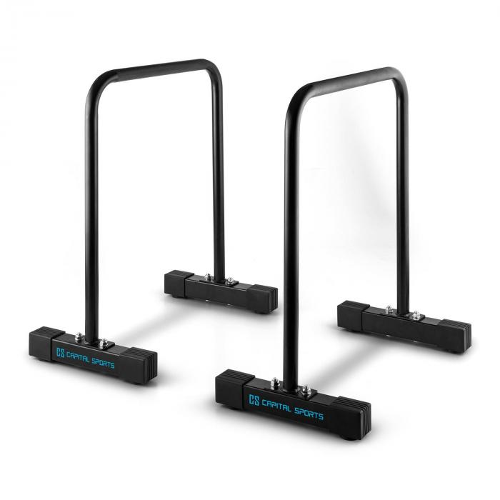 Alongs Parallettes Core-Trainer Fitness Equalizer Schwarz