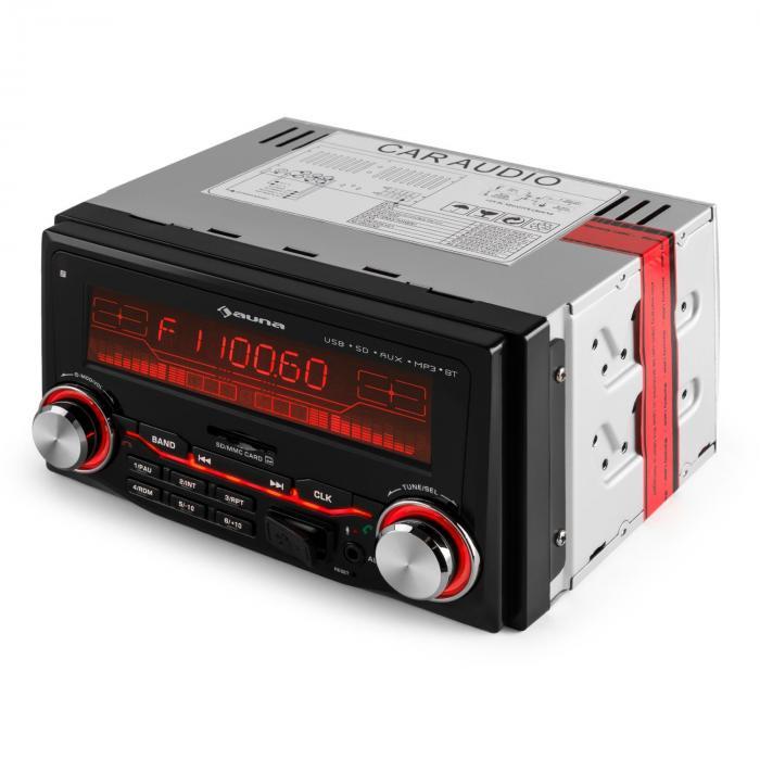 MD-200 2G BT Autoradio USB SD MP3 Bluetooth 3 Farben