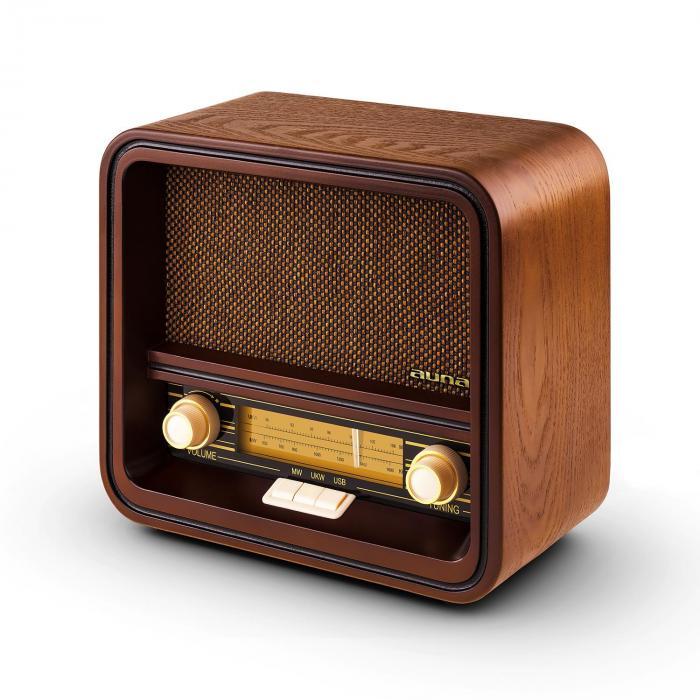 Belle Epoque 1901 Retro-Radio Nostalgieradio UKW MW USB MP3