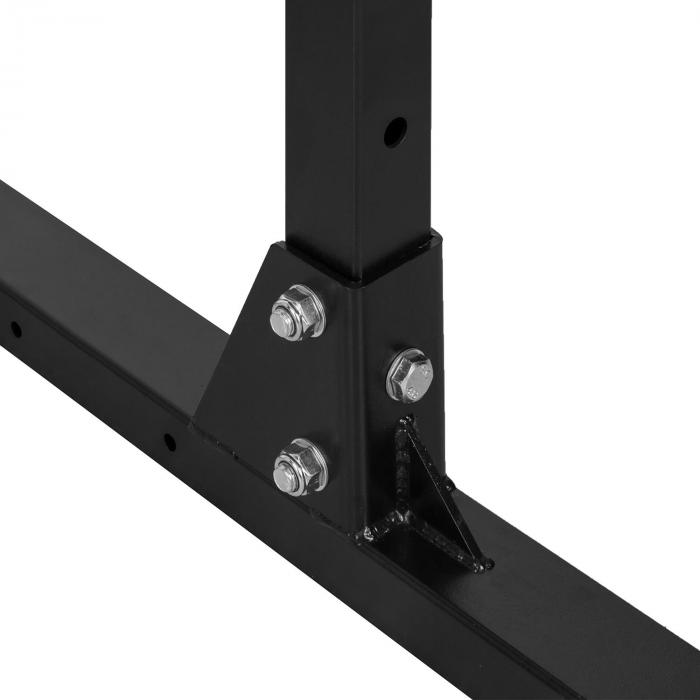 Rackster Half Rack 250kg Single Bar Stahl pulverbeschichtet