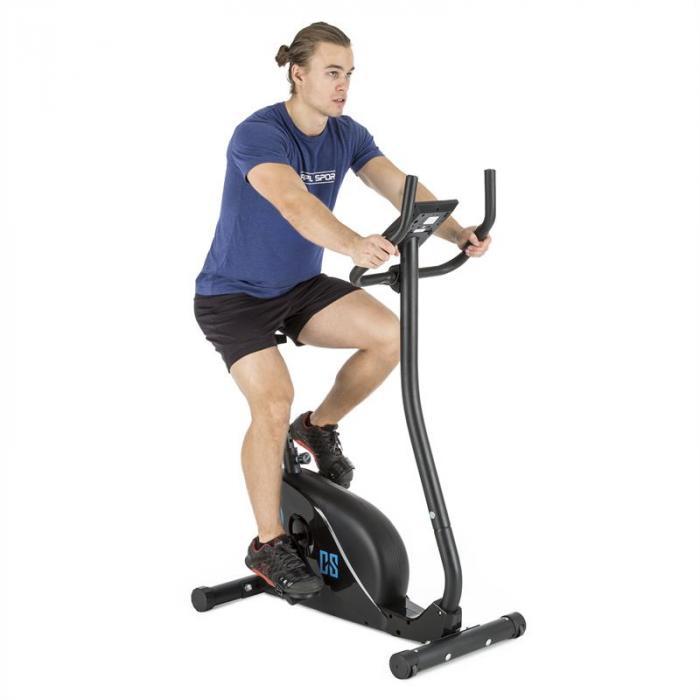Cozzil Cardiobike Heimtrainer 12 kg Puls Computer schwarz