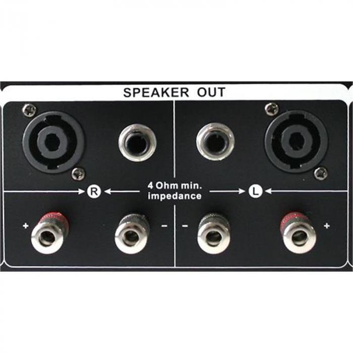 "DJ PA Komplettset ""Miami Quasar"" Verstärker 2x Boxen"